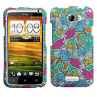 For HTC One X Design Snap-On Hard Case Phone Cover <br/> IN-STOCK - FREE SHIPPING FROM THE USA - BEST SELLER!