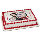 Betty Boop Glam Girl Picture Frame Edible Cake Topper $11.54 CAD