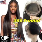 360Lace Frontal Closure Peruvian Hair Lace Band with Baby Hair Long Virgin SU817