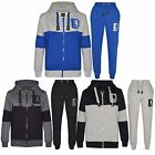 Kids Boys DL Funk Projection Tracksuit Hoodie & Bottom Jog Suit Outfit 7-13 Year