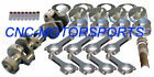 12102 Eagle Rotating Assembly Mahle Flat Top Pistons 5.7 Rod SB Chevy 350 1 pc