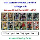 """""""Topps"""" Star Wars: Force Attax Universe: - Holographic Foil Cards (Free UK P £0.99 GBP"""