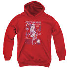 Betty Boop/Boop Ball Youth Pull Over Hoodie Red  Bb804 $43.47 CAD