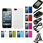 For Apple Iphone 5/5s/se Rigid Plastic Hard Snap-on Case Phone Cover Accessories