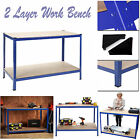 HEAVY DUTY GARAGE WORKBENCH BOLTLESS SHELF WAREHOUSE METAL RACK ADJUSTABLE UNIT