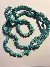 Estate Vintage Turquoise Chips Necklace
