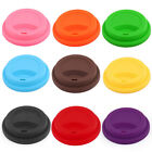 Family Cafe Silicone Reusable Drinking Water Tea Coffee Mug Cup Lid Cover