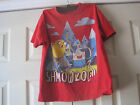 Adventure Time Finn the Boy and Jake the Dog~Red T-shirt~Boys Size S~LBDFK