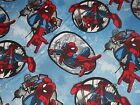 Spiderman Badge Marvel CP59503 Springs Crafting Sewing Quilting Cotton Fabric