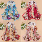 Fashion New Lady's Chinese Classic Beauty Print Silk Scarves Chiffon Scarf