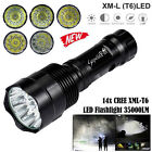 Super Bright 35000LM  Zoom XM-L T6 LED 5-Mode 18650 Flashlight Torch Lamp Light