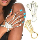 Cool Fashion Hand Skeleton Elastic Bracelet Bangle Rings Joint Bone Halloween