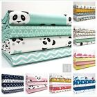 FQ / FAT QUARTER CHILDREN'S BUNDLES 100% cotton - panda whales rockets fox teepe