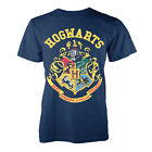 Harry Potter Official Licensed Mens Hogwarts Crest Print Tee New Designer Tshirt