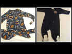 NFL TEAM APPAREL Chicago Bears 3-6 6-9 12 Month or 4 Pajama Sleepwear Choice NWT