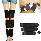 O Leg /X Bowed Leg knock Knees Correction Band Black Straightening Belt 3 Pcs
