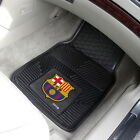FC Barcelona Car Mats 2 Pc or 4 Pc Front and Rear HD Vinyl