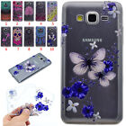 Shockproof Soft TPU Silicone Pattern Thin Slim Case Cover For Samsung Protector