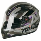 Nitro N2200 STERLING Full Face DVS Motorcycle Helmet - Matt Black/Gun BRAND NEW