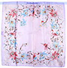 "Fashion Women's Lady's Large 34""x34"" Scarf Shawl Floral Print 5Colors 