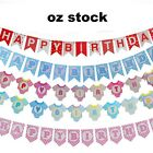 Happy Birthday Bunting Garland Flags Party Decoration Hanging Banner