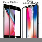 Full Coverage Tempered Glass Screen Protector For iPhone 6 7 8 Plus X Xs Max XR <br/> BUY 1, GET 1 50% OFF (Limited Time Offer) - USA SELLER