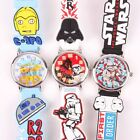 NEW STAR WARS 3D GRAPH SOFT BAND CHILD WATCH SW-3K2398P-
