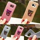 For iPhone 6S 7 Plus Bling Glitter Cute Ring Ratat Stand Sparkly Soft TPU Case