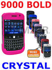 AMZER Crystal Snap On Shell Hard Case Stylish Cover Fit For BlackBerry Bold 9000