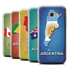 STUFF4 Gel/TPU Case/Cover for Samsung Galaxy A5 (2017)/Flag Nations