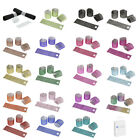 25 Colored Rhinestone Napkin Rings 8 Row - Reusable Fasteners