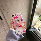 Cute cartoon Sailor Moon Cat Bow Ring pendent case Cover for iPhone 8 7 6S Plus