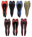 "Horseware Polo Ladies ADALIE FS Contrast BREECHES Navy/Wine/Sky/Tan/Ging 24""-34"""
