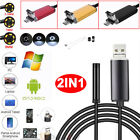 Внешний вид - 5.5mm 7mm 8mm 2in1 USB Endoscope Borescope Inspection Camera for Phone Tablet PC