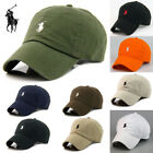 Men Wemon Polo Fine Embroidery Casual Unisex Tenni Baseball Adjustable Hat Cap