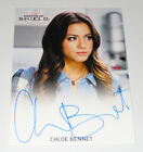 marvel agents of shield trading card rittenhouse  season 2 autograph full bleed