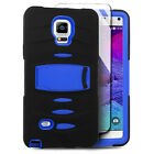 For Samsung Note 4 Case Hybrid DEFENDER Rugged Armor With Screen Protector