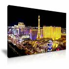 Las Vegas Canvas Wall Art Picture Print Decoration 5 Sizes Choose