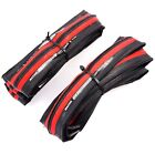 Maxxis Detonator 700 x 25C Road Racing Bike Bicycle Folding Tyre Tire Red