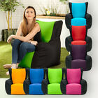 Layla Two Tone Gaming Bean Bag Gamer Arm Chair Indoor / Outdoor Garden Lounger