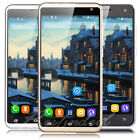 "New 5.5"" Unlocked Cell Phone Android 3G Quad Core Dual SIM Smartphone Net10 AT&T"