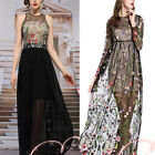 """1 Yard 51"""" wide Lace Fabric Tulle Exquisite Rose Floral Alice Embroidered Dress"""