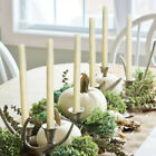 LED Taper Candle Flameless Real Wax Dinner Lights with Timer Romantic Decoration