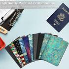Passport Holder Premium Vegan Leather RFID Blocking Case Cover Travel Wallet