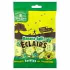 SWEET AUCTION 2 X 150G PACKS OF WALKERS BANANA SPLIT ECLAIRS BBE 20/9/17