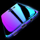 Crystal Ray Gradient Case Hard PC Acrylic Mirror Cover for Samsung Galaxy S8Plus