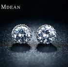 Simple Style Stud Earrings Fashion AAA White Gold Color Jewelry For Women MSE001