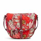 Vera Bradley Slim Saddle Crossbody Bag