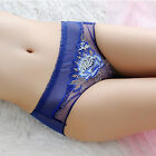 Womens Underpants Lace Briefs Underwear Panties Knickers Bamboo Fiber Lingerie