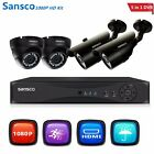 CCTV DVR Camera Security HD System 960P Outdoor Video HDMI 4ch 1080N Home Cam